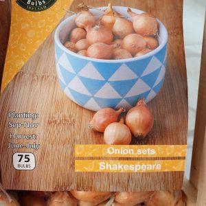 Shakespeare Onion Sets at Rockbarton