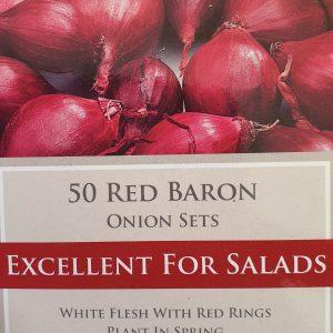 Red Baron Onion Sets