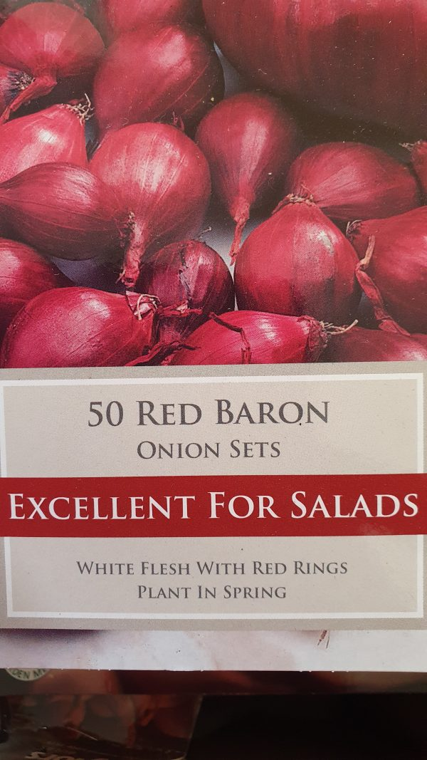 Red Baron Onion Sets